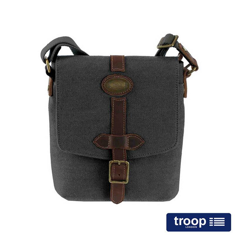 【TROOP】多塞特郡DORCHESTER斜背包/TRP0356BK