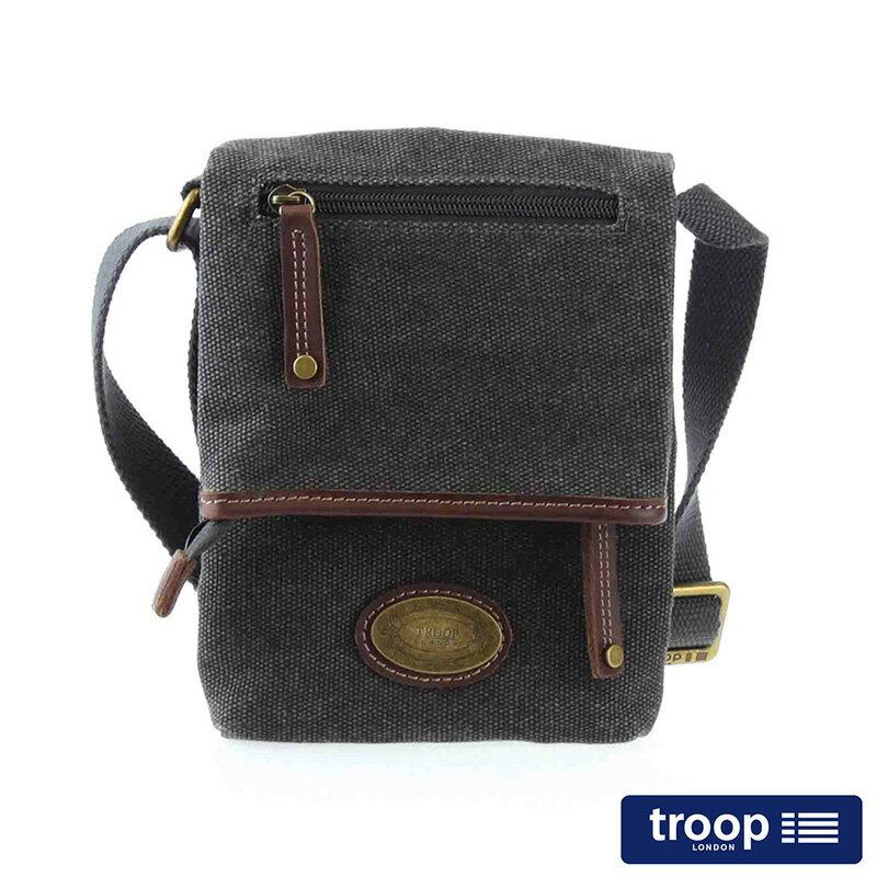 【TROOP】多塞特郡DORCHESTER斜背包/TRP0359BK