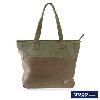 【TROOP】經典品格CLASSIC肩背包/TRP0363BN