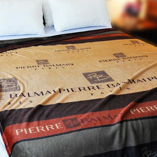 【低調尊爵】雨傘牌 法蘭絨舒眠保暖毛毯 ◆ HOUXURY台灣製