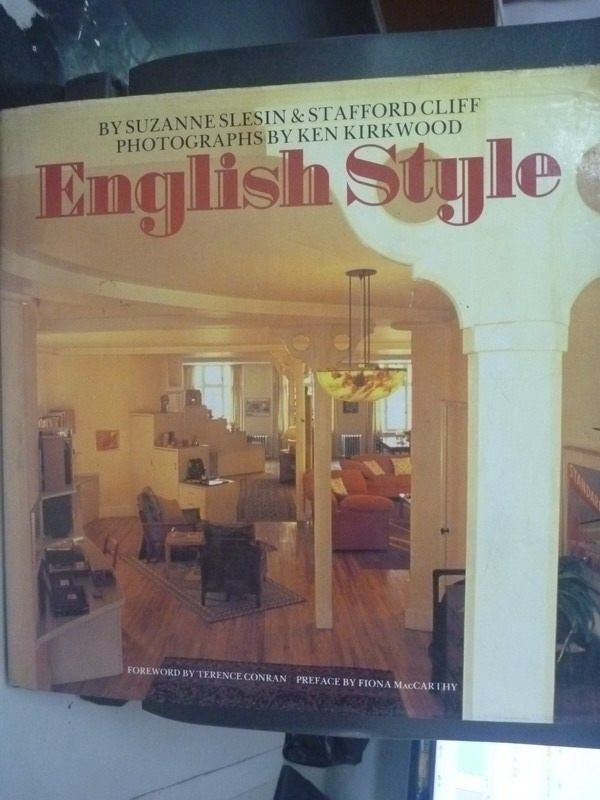 【書寶二手書T4/建築_ZBD】English style_STAFFORD CLIFF