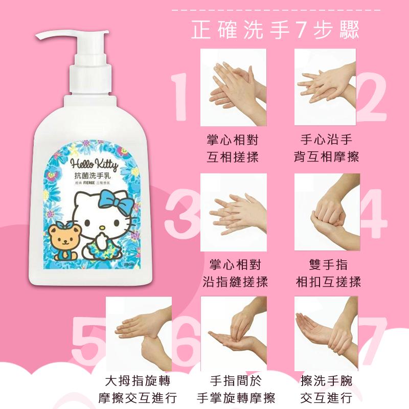 防疫消毒週【特價】【三麗鷗 潔淨洗手乳 250ml】hello kitty 洗手乳 消毒 淨味除臭 溫和洗手乳 【AB503】 7