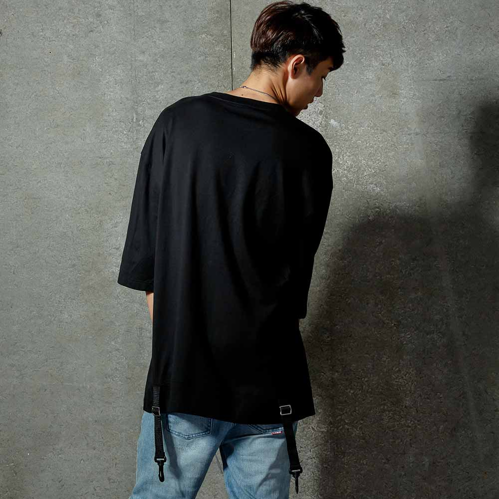 STAGE CLASP TEE 黑色 / 白色 兩色 2