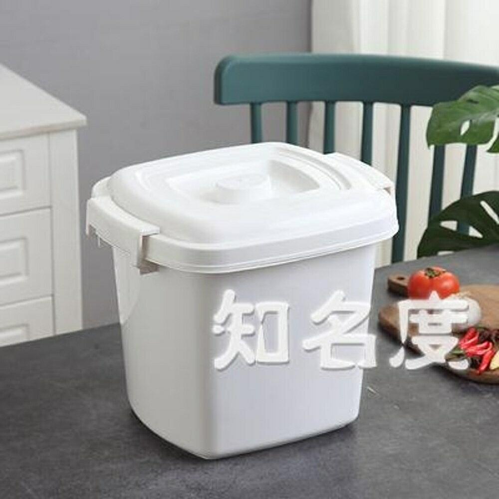 米桶 家用收納防潮10公斤25公斤米缸20公斤密封防蟲15公斤面粉裝米桶儲米箱T 3色