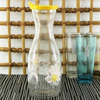 【珍昕】 自然風情玻璃冷水壺~(1000ml) 隨機花色