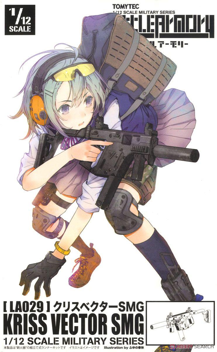 ◆時光殺手玩具館◆ 現貨 組裝模型 模型 日版 1/12 Little Armory 迷你武裝 KRISS Vector 衝鋒槍 LA029