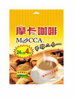 摩卡咖啡香醇二合一*1包、2包(10gX24+4入)賣場【合迷雅好物商城】