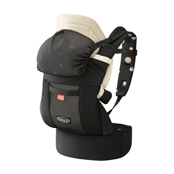 Graco - Roopop Zero CTS 新生兒腰帶型CTS系列揹巾 摩卡黑