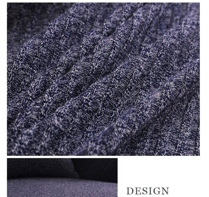 2+3人座高檔針織沙發套【RS Home】5色加厚針織沙發罩彈性沙發套沙發墊床墊保潔墊彈簧床折疊沙發套[2+3人座]