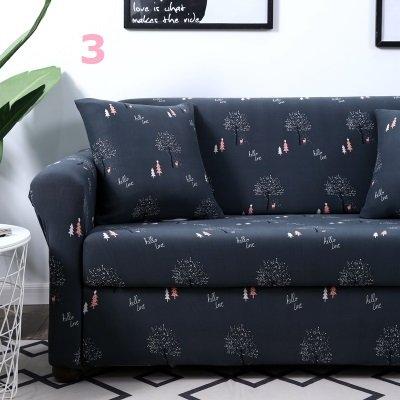 【RS Home】最新13款單人2人3人4人沙發罩彈性沙發套沙發墊工業風北歐床墊保潔墊彈簧床折疊沙發 [單人座送枕套]