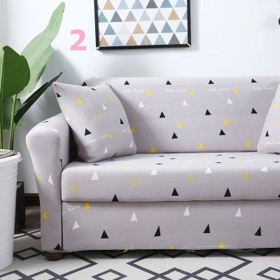 【RS Home】最新13款單人沙發罩彈性沙發套沙發墊工業風北歐床墊保潔墊彈簧床折疊沙發 [單人座送枕套]