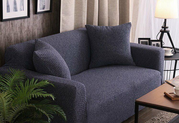 【RS Home】5色加厚針織沙發罩沙發套彈性沙發套沙發墊床墊保潔墊彈簧床折疊沙發套