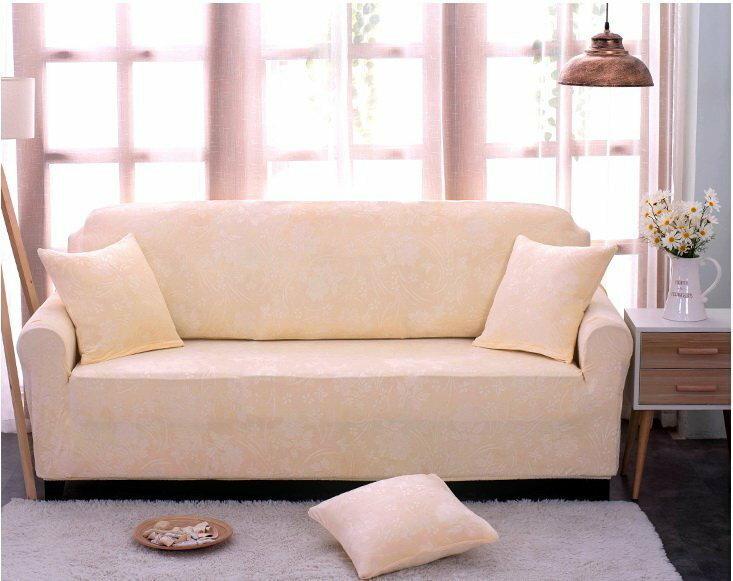 加厚緹花沙發套【RS Home】單人座加送抱枕套沙發罩沙發套彈性沙發套沙發墊床墊保潔墊沙發彈簧床折疊沙發套 [拉斐]