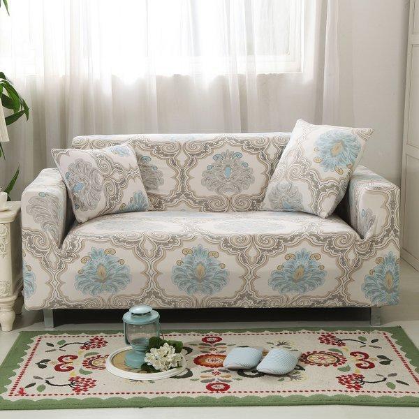 【RS Home】3人座 加送枕套 雙人沙發套彈性沙發套沙發墊沙發巾沙發布床墊保潔墊沙發彈簧床折疊沙發[典藏3人座]