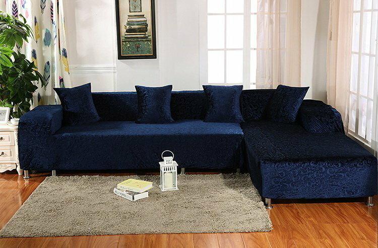 加厚緹花沙發套【RS Home】2人座加送抱枕套沙發罩沙發套彈性沙發套沙發墊床墊保潔墊沙發彈簧床折疊沙發套 [克理斯]