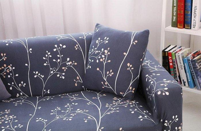 沙發套【RS Home】2人座加送抱枕套沙發罩沙發套彈性沙發套沙發墊沙發布床墊保潔墊沙發彈簧床折疊沙發 [低調2人座]