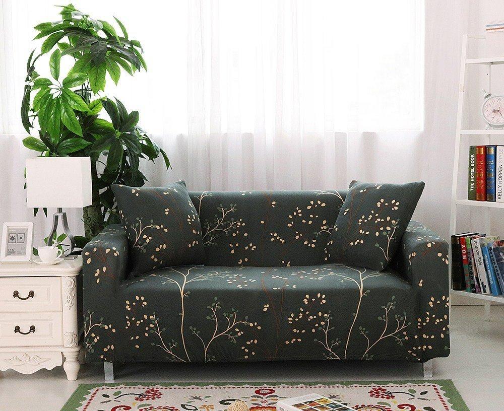 【RS Home】2+3人座加送抱枕套沙發罩沙發套彈性沙發套沙發墊沙發布床墊保潔墊沙發彈簧床折疊沙發 [2+3人座]