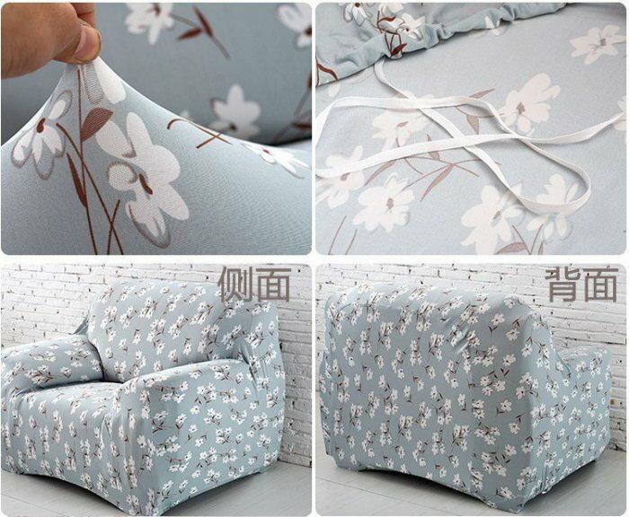 沙發套【RS Home】沙發罩沙發套彈性沙發套沙發墊沙發巾沙發布床墊保潔墊沙發彈簧床折疊沙發 [雅致單人座]