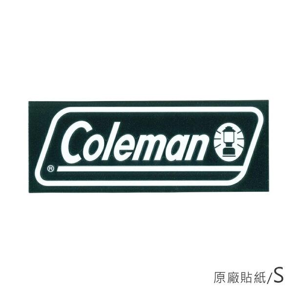 【露營趣】中和安坑ColemanCM-10524原廠貼紙S汽車貼紙抗UV防退色