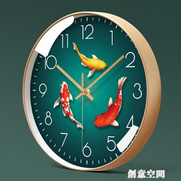 易普拉6005掛鐘客廳鐘表簡約北歐時尚家用時鐘掛表現代創意石英鐘