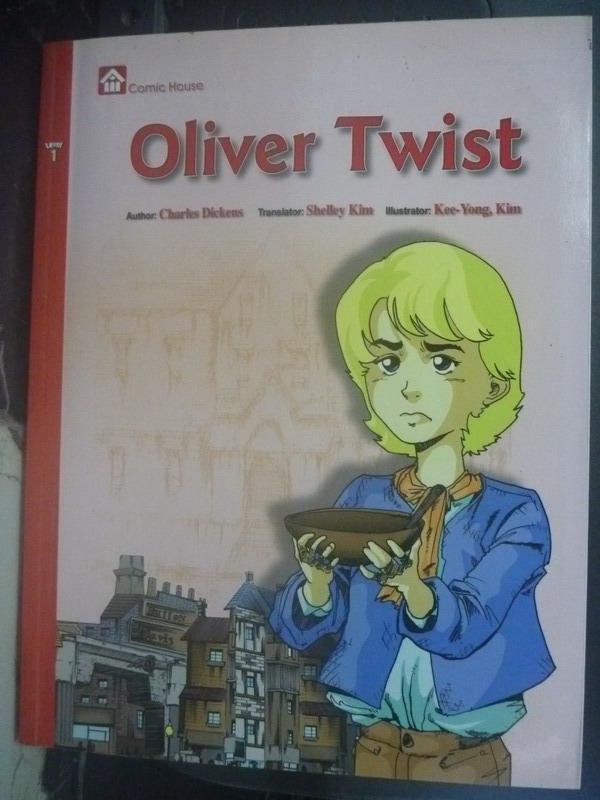 【書寶二手書T6/少年童書_ZBU】Oliver Twist_Charles Dickens