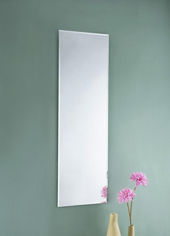 30*90無框斜邊壁鏡 貼鏡 掛鏡 全身鏡【馥葉】【型號MR3095 】送雙面泡棉膠