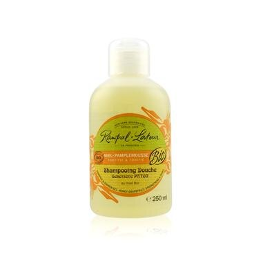 南法香頌 歐巴拉朵2in1蜂蜜葡萄柚洗髮沐浴精(250ml/瓶)_附提袋