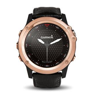 GARMIN fenix 3 玫瑰金款 全能戶外運動GPS腕錶