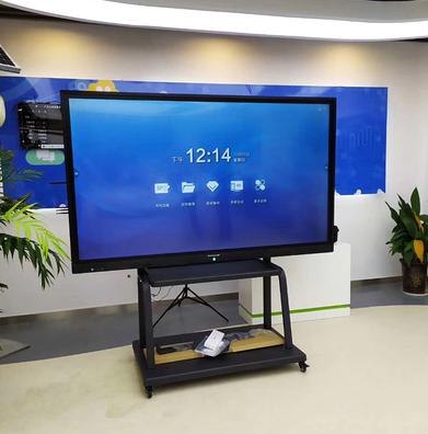 電視機架 液晶電視機可移動支架落地推車55/65/75寸落地式架子壹體機掛架