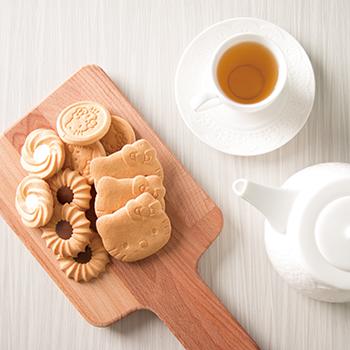 有樂町 中秋歷年暢銷 超可愛Kitty造型奶酥餅乾禮盒(附提袋) 1