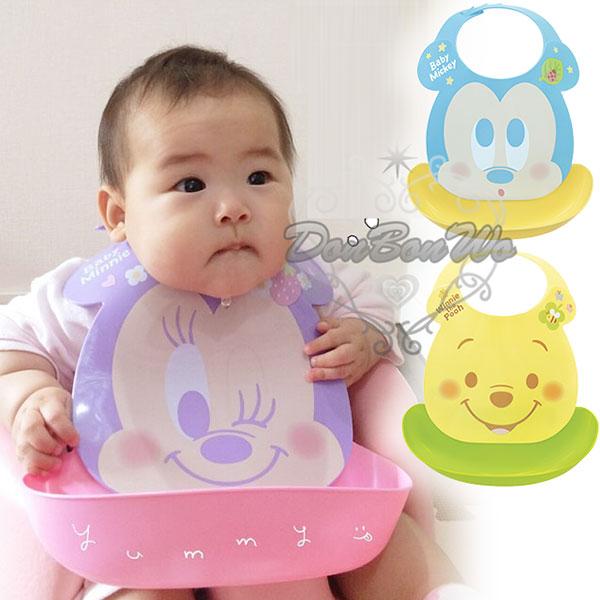 迪士尼幼兒飲食防髒圍兜