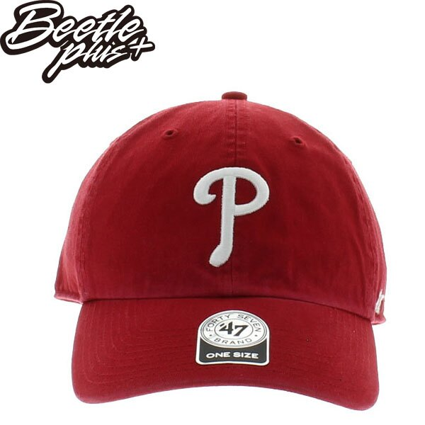 BEETLE 47 BRAND 老帽 費城 費城人 PHILLIES DAD 大聯盟 職棒 MLB 紅白 MN-401