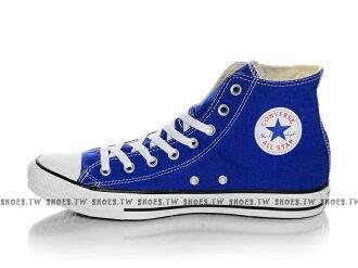 《限量5折》【142366C】CONVERSE 帆布鞋 ALLSTAR 基本款 高筒帆布 寶藍色