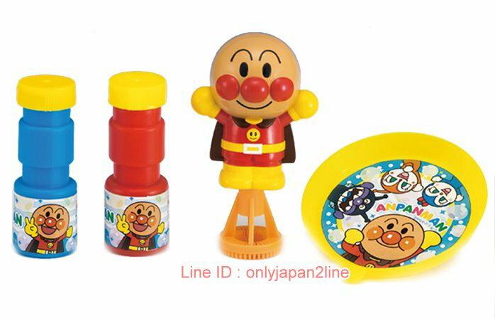【真愛日本】17021000021吹泡泡玩具-ANP    電視卡通 麵包超人 細菌人 兒童玩具 正品 限量