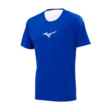 J2TA750416(深藍)SOLARCUT熱遮蔽、抗紫外線男路跑短T恤【美津濃MIZUNO】