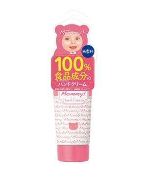 日本 媽咪護手霜 百分百食品成分 Mommy護手霜 無香料 櫻花寶寶