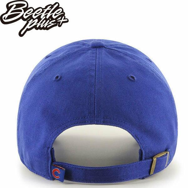 BEETLE 47 BRAND 老帽 芝加哥小熊 CHICAGO CUBS DAD 職棒 大聯盟 MLB 藍 紅字 MN-409 2