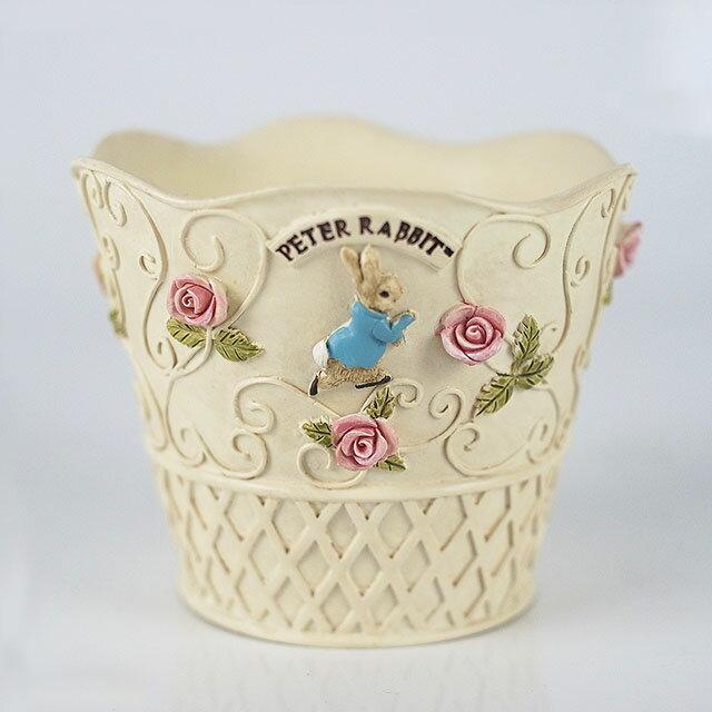 《Annie's Friends》Peter Rabbit 比得兔小置物籃【玫瑰鍛鐵】