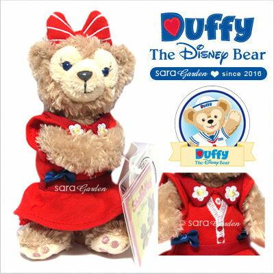 免運贈購物袋 正版 迪士尼 Disney 雪莉玫 ShellieMay 絨毛 玩偶 娃娃 玩具 吸磁 香港 限定 碎花洋裝