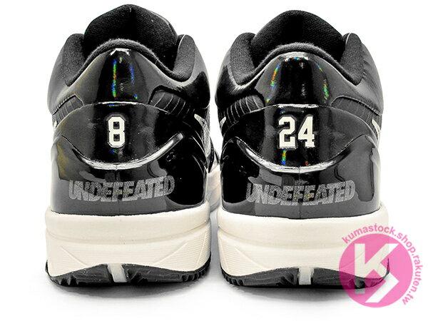 2019 經典籃球鞋款 鞋舖重磅聯名 UNDEFEATED x NIKE KOBE IV 4 PROTRO UNDFTD PE BLACK MAMBA 黑白 黑曼巴 隱藏配色 Bryant 曼巴 後 ZOOM AIR 氣墊 籃球鞋 8 24 (CQ3869-001) ! 4