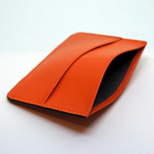 太陽橘【小羊皮證件票卡套】 同時收納紙鈔證件名片 時尚穿搭小單品