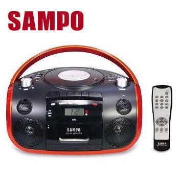 【SAMPO聲寶】USB手提CD音響(AK-W1602UL)(具USB/SD記憶卡裝置插孔)