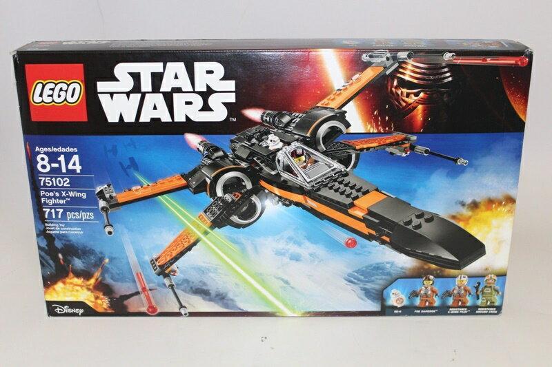【瞎買天堂x現貨免運】樂高 LEGO 75102 星際大戰 Poe's X-Wing【TYLESW05】
