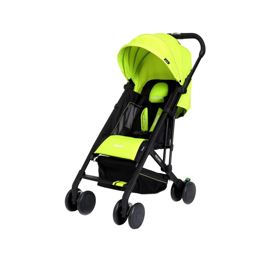 RECARO - Easylife嬰幼兒手推車 (萊姆綠) 附原廠背帶一條 - 限時優惠好康折扣
