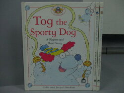【書寶二手書T8/語言學習_YJT】Tog the Sporty Dog_Pat and the Magic Hat等_