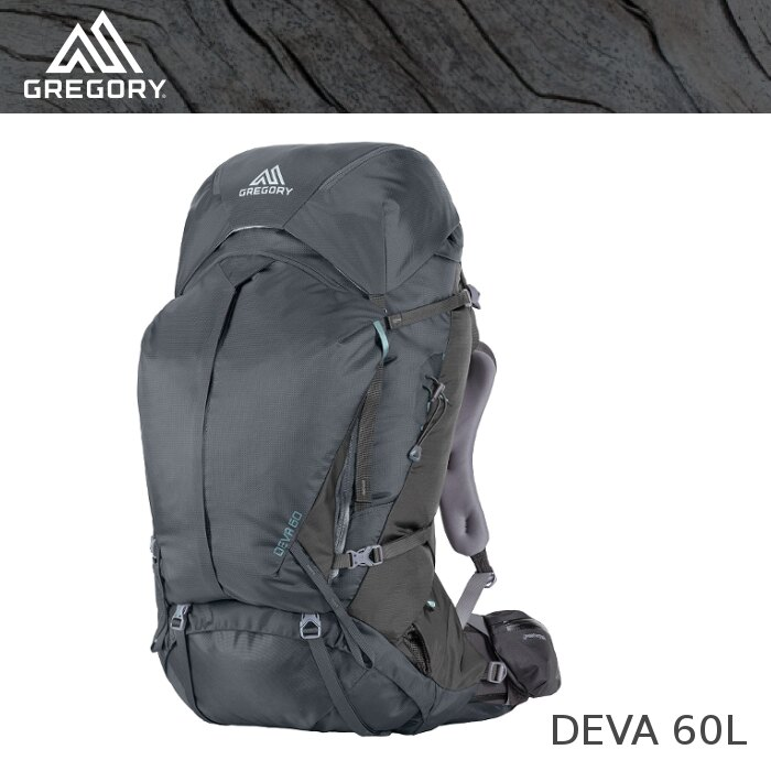 【速捷戶外】↓6.5折↓美國GREGORY DEVA 60 女款專業登山背包 S號 炭灰 #65033