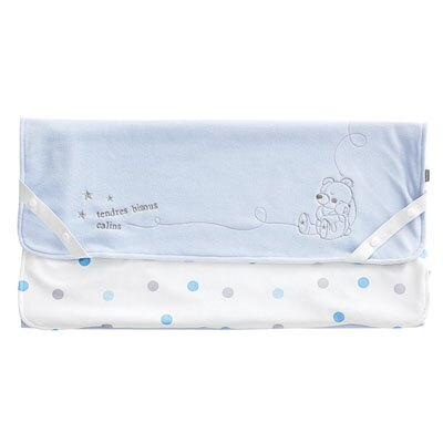 【悅兒樂婦幼用品館】奇哥 布偶熊防水透氣保潔墊(藍色)