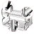 Kitchen 2 Tier Stainless Steel Dish Rack Cup Drying Rack Drainer Dryer 4