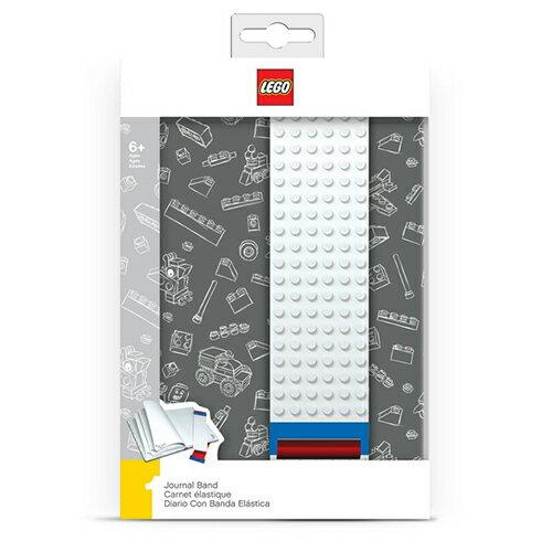 【 樂高積木 LEGO 】組合板筆記本 - 灰色