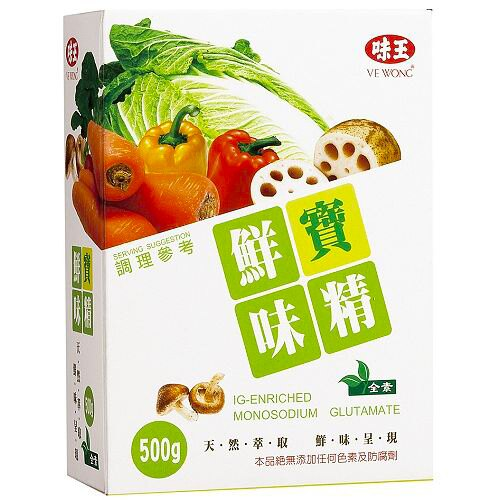 味王 鮮寶味精 500g/盒